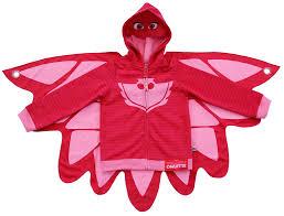 zip mask halloween toddler u0026 039 s tv show pj masks owlette pink zip up costume