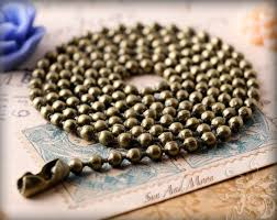 wholesale chain necklace images 20 economical oxidized vintage bronze ball chain necklaces etsy jpg