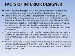 Interior Design Facts by What An Interior Designer Does I Hope This Article Clarified Your