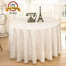 Buy Table Linens Cheap - aliexpress com buy jacquard floral rectangular tablecloth home