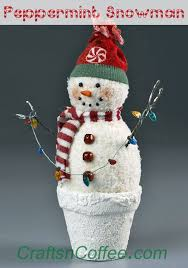 57 best snowman crafts images on ideas