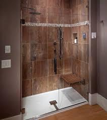 Bathroom Shower Stalls With Seat Clocks Walk In Shower Insert Corner Shower Stalls For Small