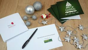 personalised company christmas cards print and marketing blog