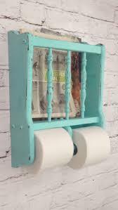 blue and white shabby chic bathroom home decor ideas