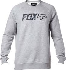 fox mtb shocks fox legacy crew sweatshirt clothing hoodies