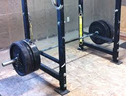 Bench For Power Rack Power Rack Safety Straps Garage Gym Guy