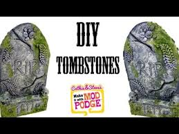 tombstone decorations diy tombstone yard decorations