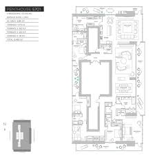 echo brickell floor plans floor plans of echo brickell residences penthouses