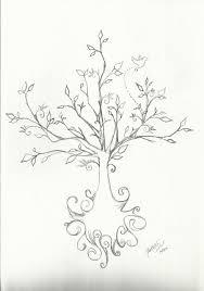 tree drawing by heavwa on deviantart