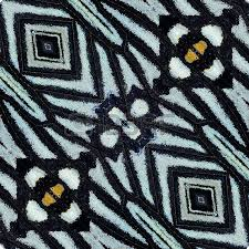 special pattern background from yellow and black bird wing