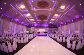 wedding reception purple lighting palladio banquet hall my