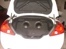 nissan altima coupe near me please give your opinion on my setup car audio diymobileaudio