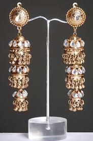 jhumki style earrings indian jhumki style earrings with stones online shopping shop
