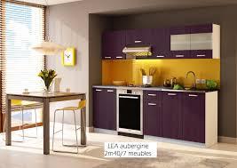 meuble cuisine violet cuisine violet et noir en inspirations et cuisine équipée violet