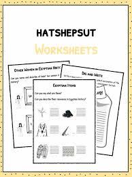 hatshepsut first female pharaoh facts u0026 worksheets for kids