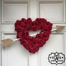 Valentine Decorations Ideas Pinterest by Best 25 Heart Wreath Ideas On Pinterest Valentine Wreath