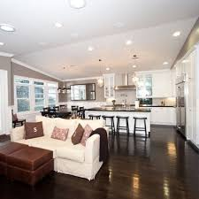 Open Living Room Kitchen Designs | simple open concept homes google search home inspiration