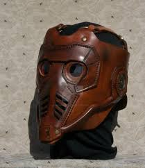 leather mask a client requested custom leather mask by lafuellingfacades on