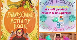 crafty crafty weekend thanksgiving activity book