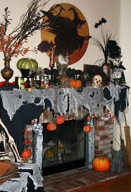 cool 99 scary but classy halloween fireplace decoration ideas