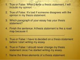 Essay Sample Essay Thesis Statement Personal Essay Thesis Statement Pics