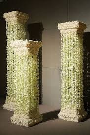 wedding backdrop ideas with columns column for wedding decorations wedding corners