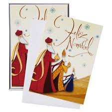christmas cards spanish christmas lights card and decore