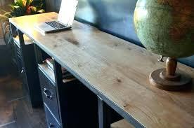 bureau metal et bois bureau mal style industriel en metal et bois mee maljpg caruso