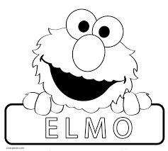 coloring pages decorative elmo coloring pages free printable