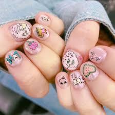 ester chuu nails nails pinterest