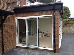 Folding Doors Patio Bi Folding Doors Patio Doors And Lantern Roof Thame Windows