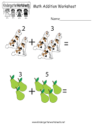 this is an image and number addition worksheet this would be a