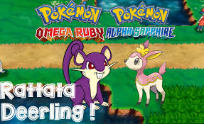 Omega Ruby Pokemon Omega Ruby And Alpha Sapphire How To Catch Get Deerling