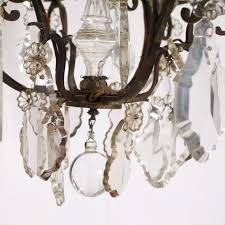 Bronze Chandelier With Crystals 12 Inspirations Of French Bronze Chandelier