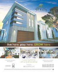 strata at plantation check out strata u0027s ad in february u0027s