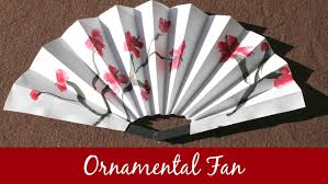 how to make a fan s pastiche fans how to make an ornamental fan