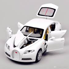 toy bugatti 1 32 scale white bugatti veyron alloy pull back car toys diecast