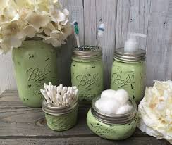 Mason Jar Bathroom Decor Mason Jar Home Decor Best Mint Farmhouse Mason Jar Bathroom