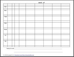 100 free printable lesson plan template blank blank weekly