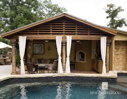 Fireplace San Antonio by Brad Sharpe Pools Outdoor Living Areas