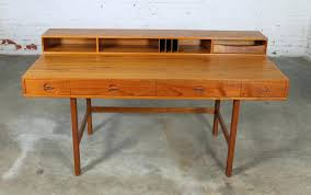 Modern Partners Desk Modern Desk Modern Teak Transitional Desk Mid