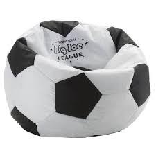 Big Joe Bean Bag Chair For Kids Amazon Com Comfort Research Big Joe Soccer Ball Bean Bag Chair