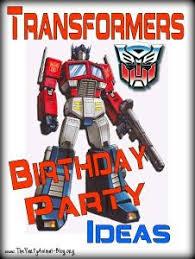 transformer birthday transformers birthday party transformers birthday
