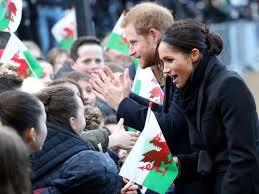 meghan harry prince harry meghan markle enchant in visit to wales