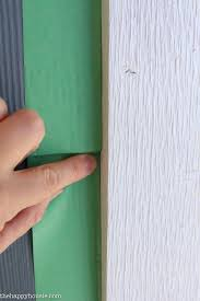 mess free painting of our exterior trim the happy housie