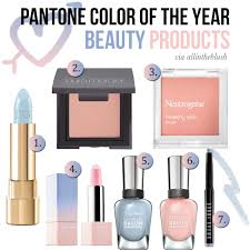 pantone colors of the year color of the year beauty products