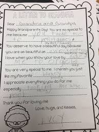 grandparents day writing paper joni tickle ticklejm twitter check out this awesome kindergarten writing greetings to grandparents day gilbertpridepic twitter com z6d0aim9oe
