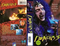 halloween horror nights 1997 the horrors of halloween night of the demons trilogy vhs and dvd
