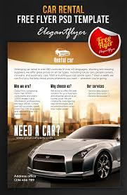 car rental free flyer psd template facebook co by webstroy80