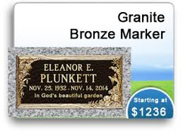 affordable grave markers headstones monuments grass markers grave markers cemetery